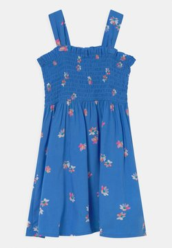OshKosh - Smocked Floral Dress - Freizeitkleid - blue