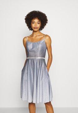 Luxuar Fashion - Cocktailkleid/festliches Kleid - schwarz/silber