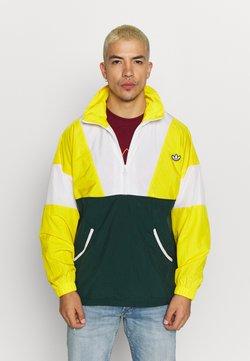 adidas Originals - SAMSTAG SPORT INSPIRED TRACKSUIT JACKET - Windbreaker - yellow/white/green