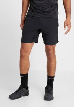 Nike Performance - SHORT YOGA - Pantalón corto de deporte - black/iron grey
