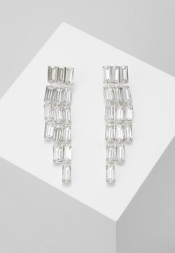 Pieces - PCORIA EARRINGS KEY - Earrings - silver-coloured
