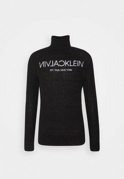 Calvin Klein - LOGO - Maglione - black