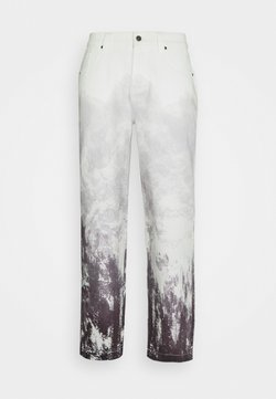 Jaded London - MOUNTAIN SCENE SKATE  - Jeans Relaxed Fit - grey