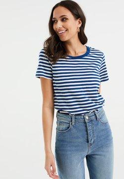 WE Fashion - T-Shirt print - cobalt blue