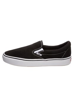 Vans - COMFYCUSH - Matalavartiset tennarit - black/true white