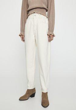PULL&BEAR - Straight leg jeans - sand