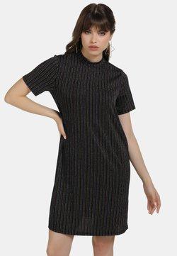 myMo - KLEID - Vestido de cóctel - schwarz multicolor