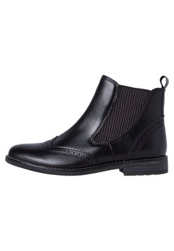 Marco Tozzi - CHELSEA  - Ankle Boot - black ant.comb