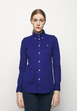 Polo Ralph Lauren - HEIDI LONG SLEEVE - Button-down blouse - sporting royal
