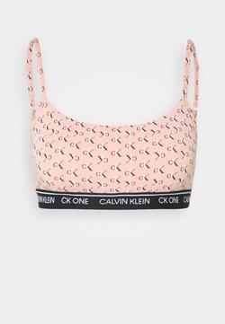 Calvin Klein Underwear - ONE PRIDE CAPSULE UNLINED BRALETTE - Alustoppi - light pink/black/white
