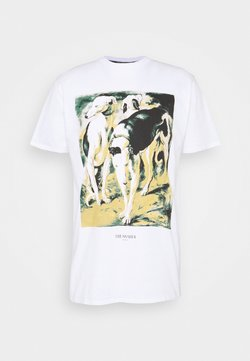 Trussardi - PURE CLOSE FIT - T-shirt print - white