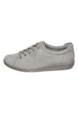 ECCO - Sznurowane obuwie sportowe - grey