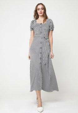 Madam-T - FULOARIDA - Freizeitkleid - schwarz, weiß