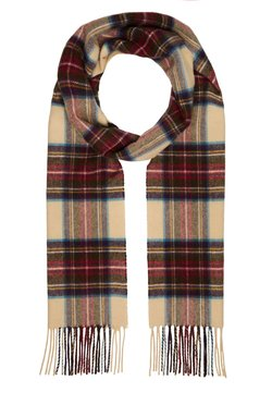 Johnstons of Elgin - 100% Cashmere Tartan Scarf - Szal - hessian dress steward