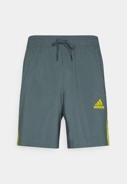 adidas Performance - CHELSEA - Pantalón corto de deporte - bluoxi/yellow