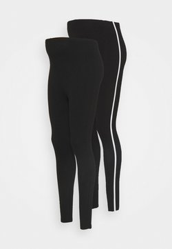 New Look Maternity - 2PACK - Leggings - black