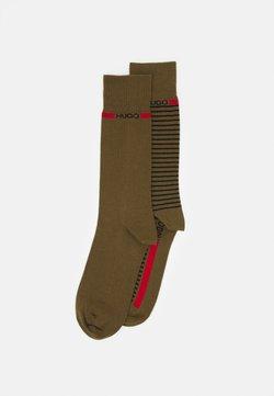 HUGO - STRIPE 2 PACK - Socken - open green