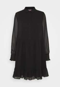 Tommy Jeans - TIERED LINE DRESS - Blusenkleid - black