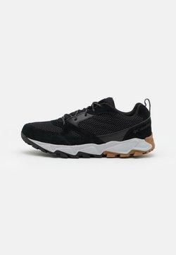 Columbia - IVO TRAIL BREEZE - Hiking shoes - black/grey ice