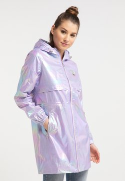 myMo - HOLOGRAPHIC - Parka - lilac
