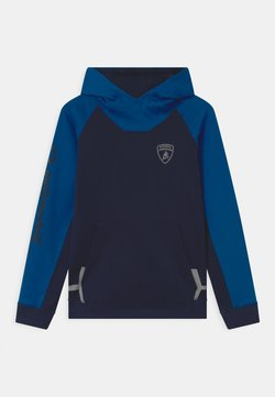 Automobili Lamborghini Kidswear - COLOR BLOCK HOODED - Sweater - blue hera