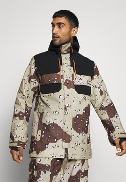 DC Shoes - HAVEN JACKET - Giacca da snowboard - chocolate chip