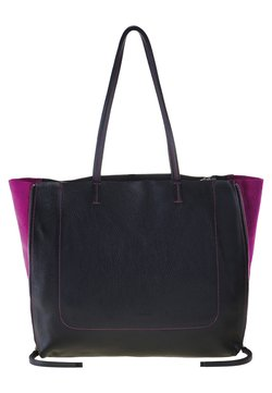 Mywalit - RHODES - Shopping Bag - black/pink