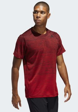 adidas Performance - TECH GRADIENT T-SHIRT - Printtipaita - red