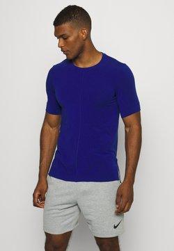 Nike Performance - DRY YOGA - T-Shirt basic - deep royal blue/black