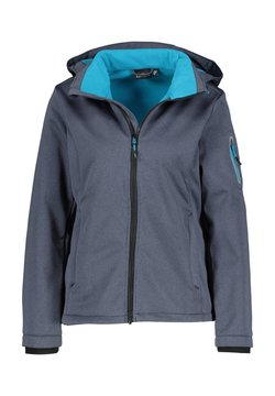 CMP - Regenjacke / wasserabweisende Jacke - grau