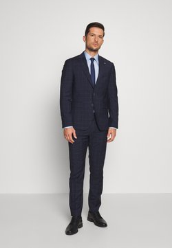 Tommy Hilfiger Tailored - WINDOWPANE SLIM FIT SUIT - Costume - blue
