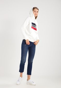 Levi's® - GRAPHIC SPORT - Sweat à capuche - marshmallow