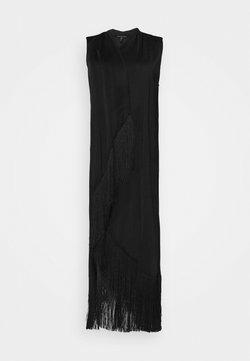 BCBGMAXAZRIA - ASYMMETRIC DRESS - Cocktailkleid/festliches Kleid - black