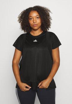 adidas Performance - TEE  - T-Shirt basic - black