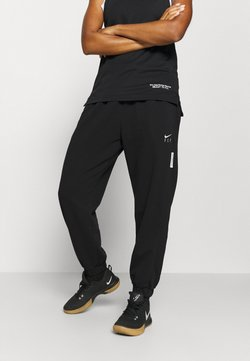 Nike Performance - STANDARD ISSUE PANT - Trainingsbroek - black/pale ivory/pale ivory
