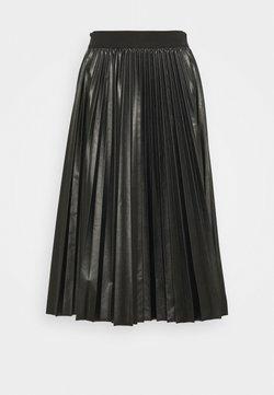 MAX&Co. - FLAVIANA - Pleated skirt - black