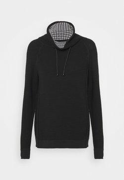 edc by Esprit - TUNNEL NECK - Pullover - black
