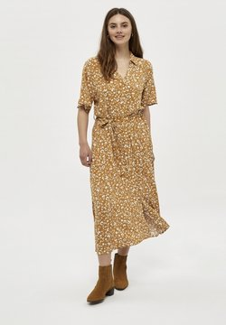 PEPPERCORN - Blusenkleid - spruce yellow pr