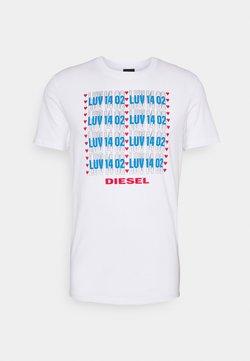 Diesel - UMLT-DIEGOS - Nachtwäsche Shirt - bright white
