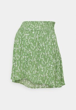 MAMALICIOUS - MLCARLIN SKIRT - Minirock - turf green/golden apricot