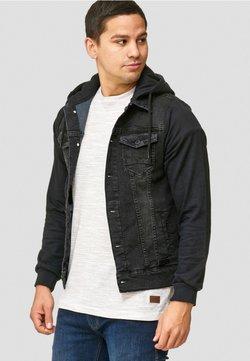 INDICODE JEANS - Veste en jean - black