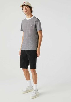 Lacoste - T-Shirt print - weiß / navy blau