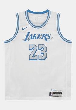 Nike Performance - NBA CITY EDITION LEBRON JAMES LA LAKERS UNISEX - Fanartikel - white