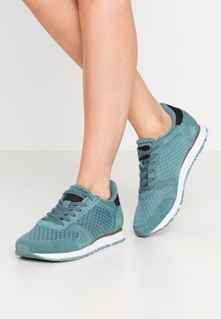 Woden - YDUN SUEDE MESH II - Sneakers laag - north atlantic