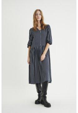 InWear - VIKSA LONG DRESS - Freizeitkleid - marine blue stripe