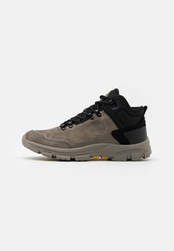 Colmar Originals - COOPER RACER - Sneaker high - mud/black/yellow