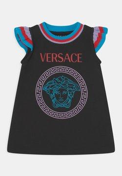Versace - Vestido informal - nero/turchese/lilla/rosso