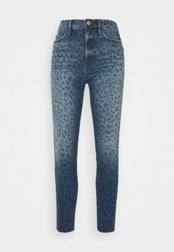 Frame Denim - ALI HIGH RISE CIGARETTE RAW AFTER - Jeans Skinny Fit - blue denim