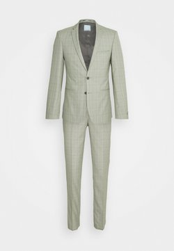 Viggo - SVENSKT SLIM SUIT - Garnitur - light grey