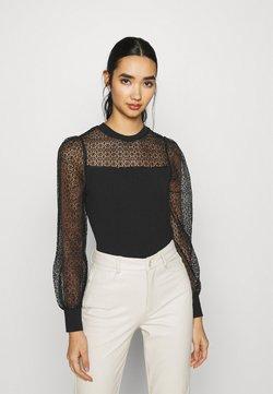 ONLY - ONLIVY PUFF MIX  - Bluzka z długim rękawem - black